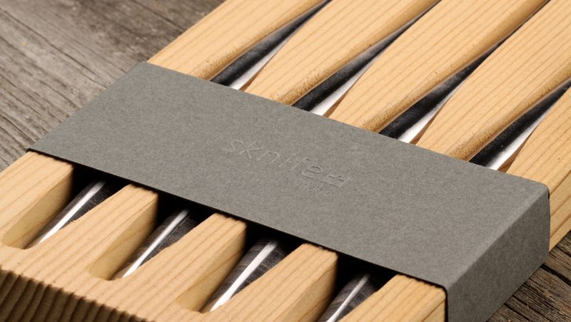 Coutau swiss made - emballage en bois durable sknife