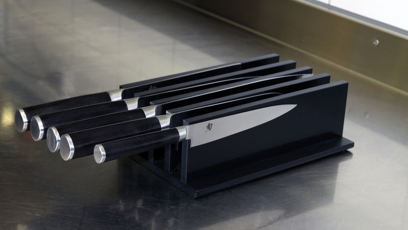 drawer insert - for up to 5 knives
