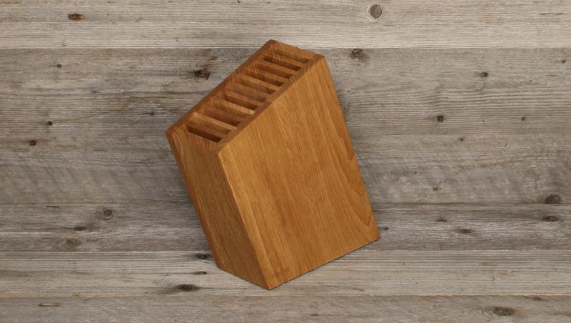 Swiss knife block - oblique, for 10 knives