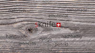 Messer swiss made – sknife Philosophie