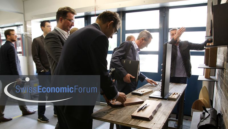 sknife - nominated for prize young entrepreneurs Swiss Economic Forum SEF